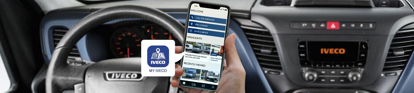 MY IVECO 2.0 – THE WORLD OF IVECO IN YOUR HANDS